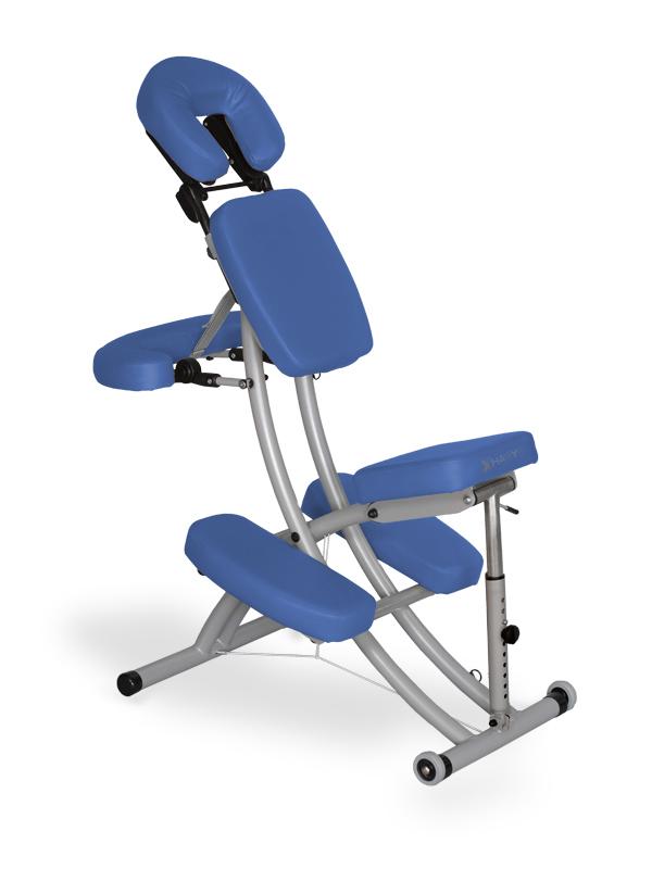 """Chaise de Massage """"Prestige"""" bleu"""