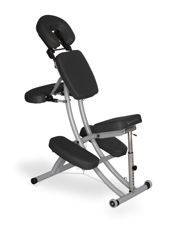 """Chaise de Massage """"Prestige"""" Noir"""