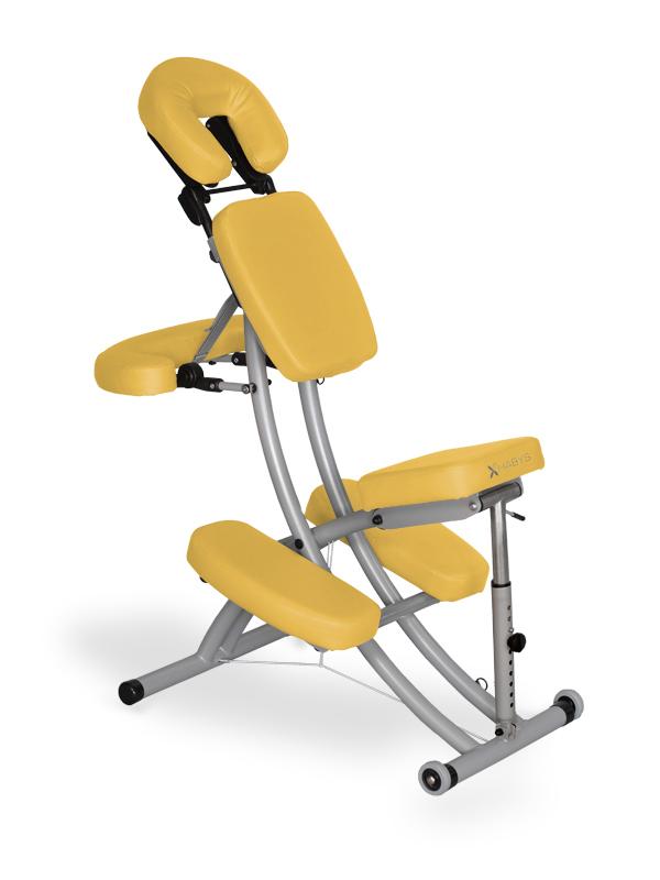 "Chaise de Massage ""Prestige"" jaune"