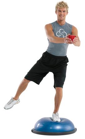 Bosu Pro exercice