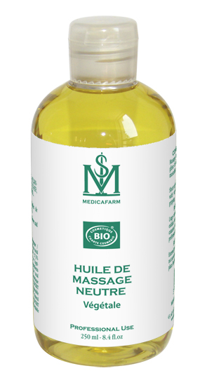 HUILE DE MASSAGE NEUTRE VEGETALE