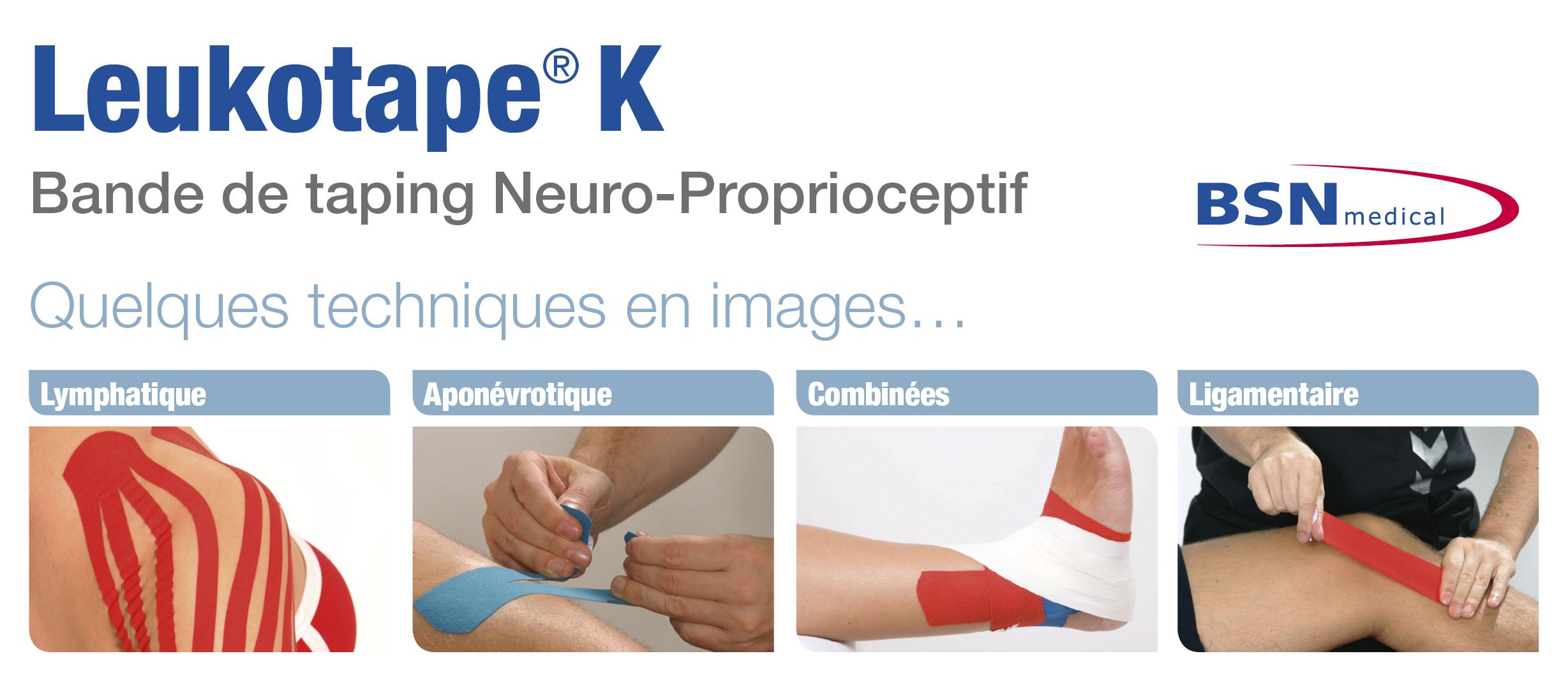 Leukotape® K BSN 5 m X 5 cm