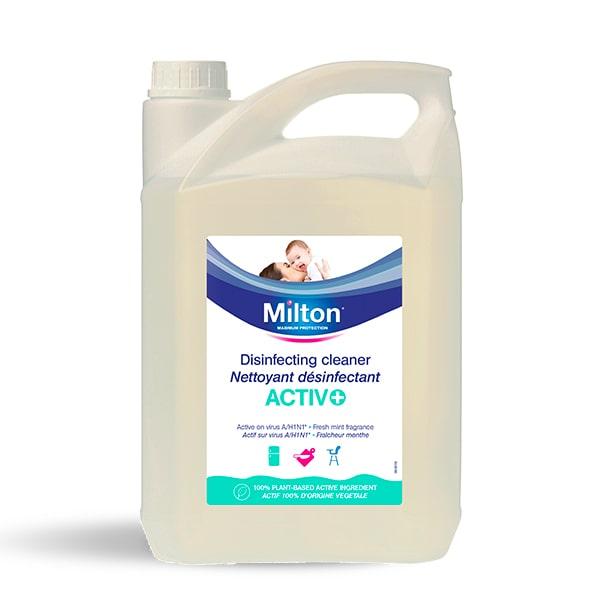 NETTOYANT DÉSINFECTANT ACTIV+ MILTON 5L