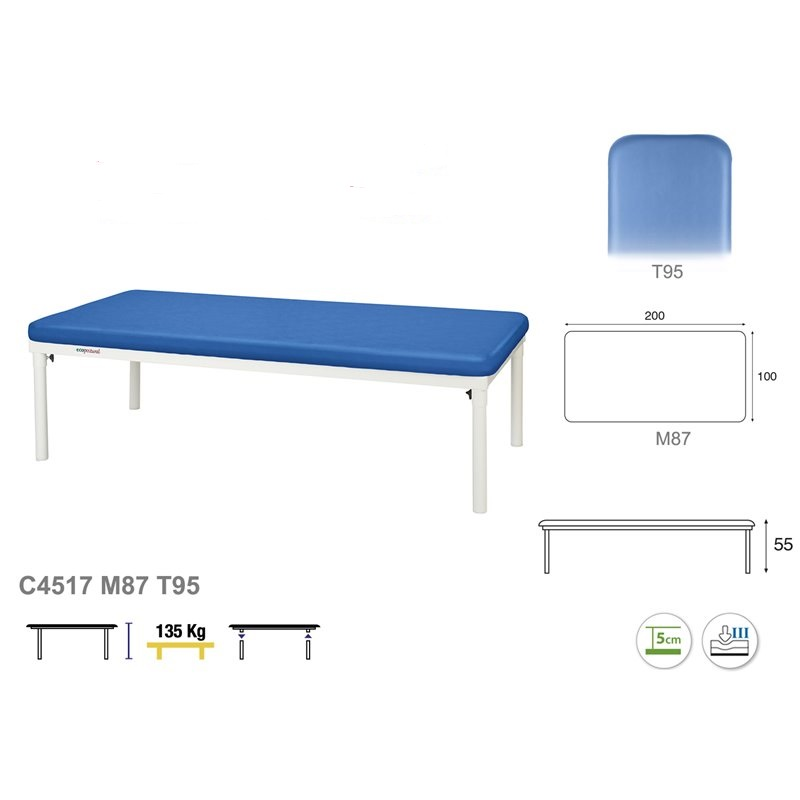 Table fixe Bobath T95 100x200