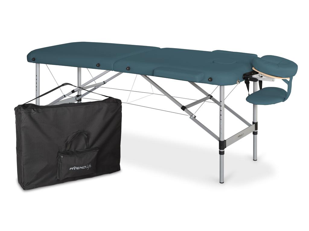 Table de massage pliante  aluminium 60 cm