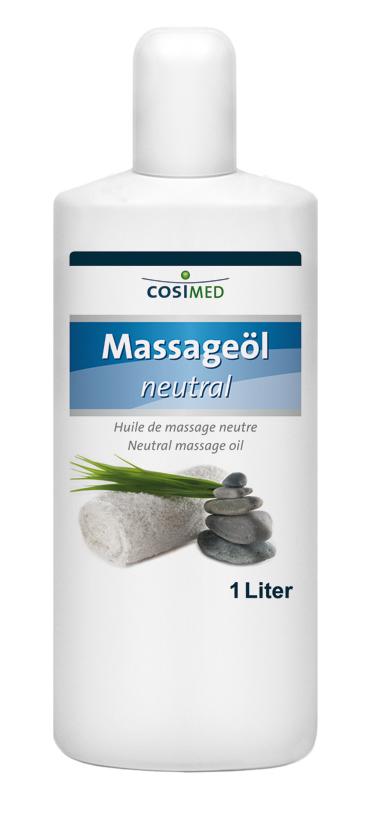 Huile de massage neutre 1 L